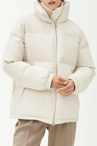 Arket Puffa Coat: Short Down Jacket