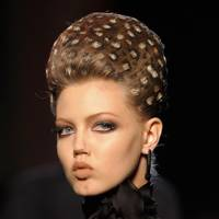 Leopard-print hair at JPG