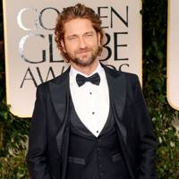 Gerard Butler at Golden Globes 2012