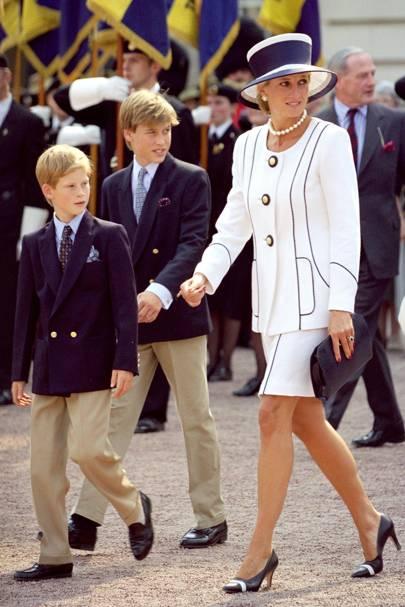 """Princess Diana pranked Prince William with a trio of supermodels. """""""