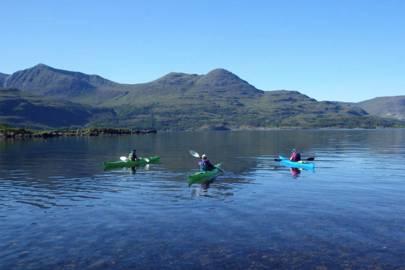 Try sea kayaking