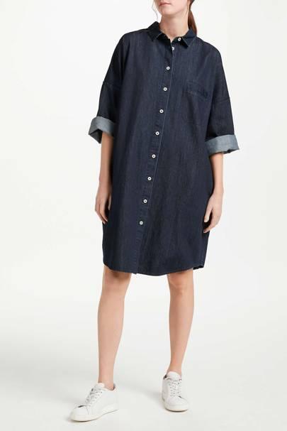 Best Denim Dresses - Layering Hero