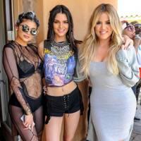 Kylie Jenner, Kendall Jenner and Khloe Kardashian