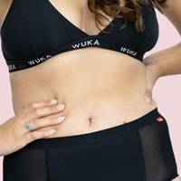 Best period pants overall and best for tummy bloating: Wuka period pants