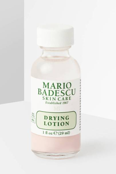 7. The drying lotion