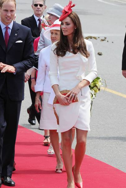 DO #10: Kate Middleton on the royal tour of Canada, July