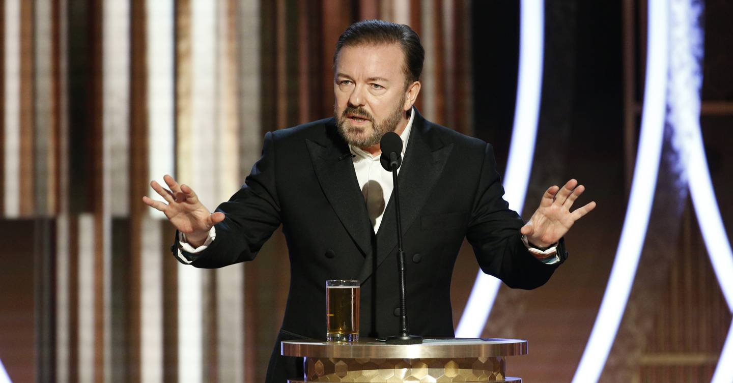Too far OR too funny? Here are Ricky Gervais' controversial Golden Globes jokes from Prince Andrew to James Corden