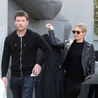 Lara Bingle & Sam Worthington