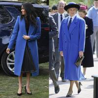 The big blue overcoat
