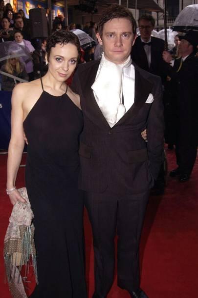 Martin Freeman & Amanda Abbington