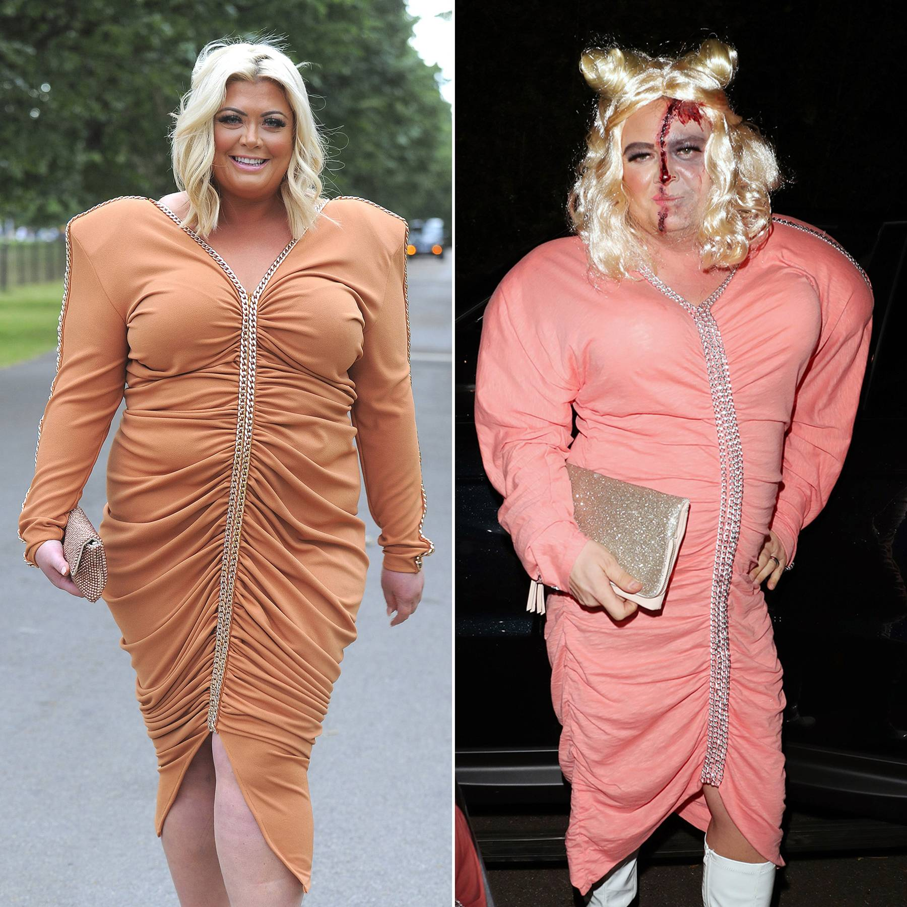 alan carr dresses up as gemma collins for halloween glamour uk