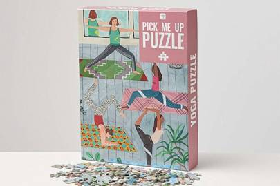 Gifts for gym lovers: the puzzle
