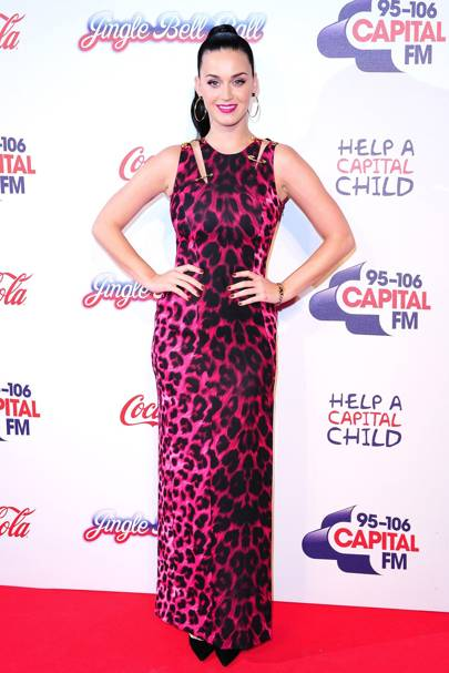 Katy Perry at the Capital FM Jingle Bell Ball