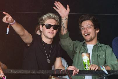 Niall Horan & Louis Tomlinson