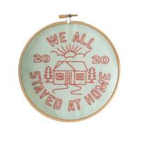 Unusual gifts: The embroidery kit