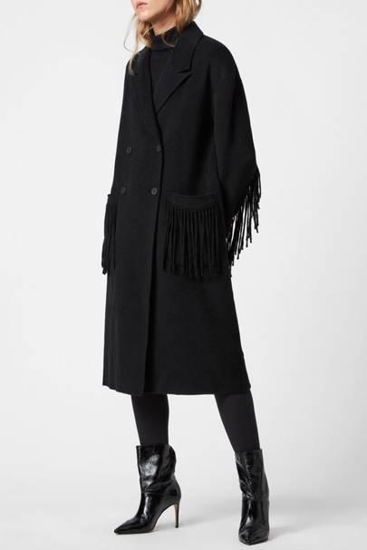 Best black coat on sale