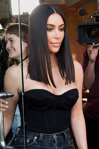 kim kardashian s new hair style new hair hairstyle uk 3432 | 405