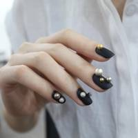 Korean nail art nail designs pictures from instagram glamour uk embellishment is big in korean nail art be it a pom pom piercing or these metallic balls its all about raised details and textures prinsesfo Gallery