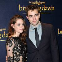 Kristen Stewart and Robert Pattinson at the UK Premiere of Breaking Dawn 2
