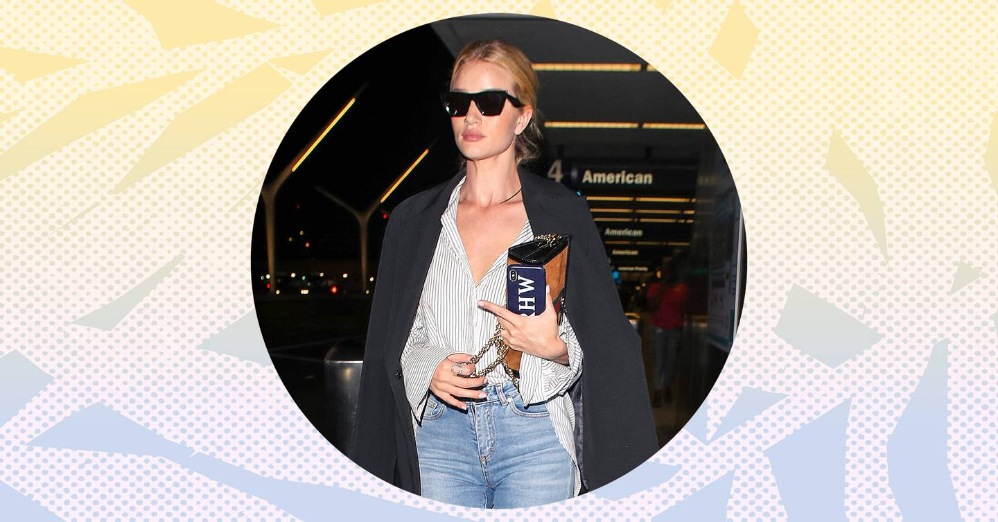 636d4d404b7bc Celebrity Airport Style, Fashion, Outfits & Looks | Glamour UK