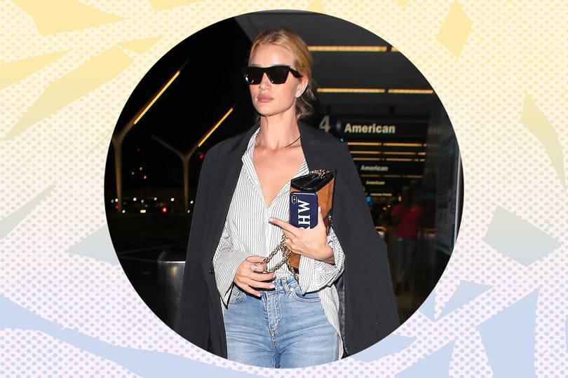 Celebrity airport fashion allure