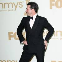 Jon Hamm at the Emmys