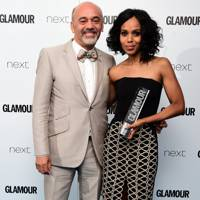 Christian Louboutin and Kerry Washington