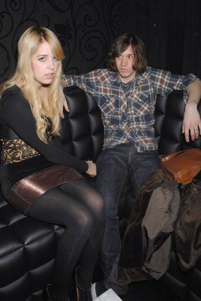 Peaches Geldof and Max Drummey