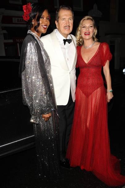 Naomi Campbell, Mario Testino & Kate Moss