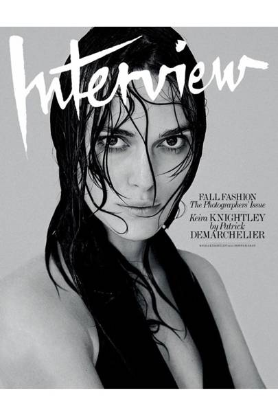 Keira Knightley Poses Topless For Interview Magazine -2805