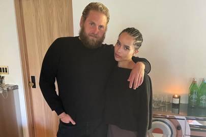 Zoë Kravitz and Jonah Hill