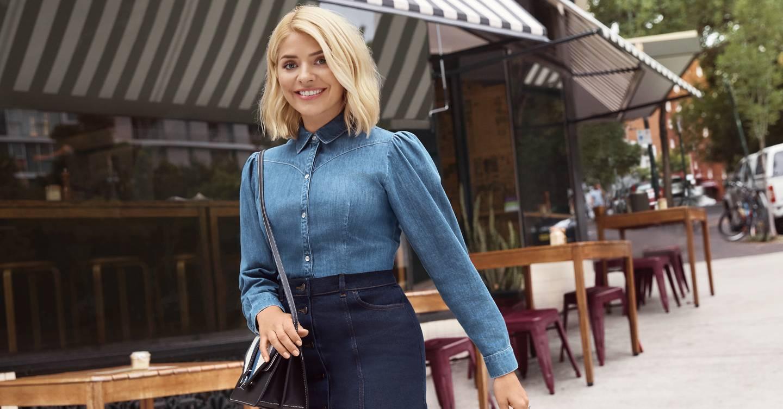 dfd4d9b43d4 Double Denim Fashion Trend  Celebrity Style Inspiration