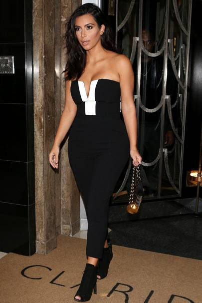 288214f44bfb Making her way to the launch of the Kardashian Kollection for Lipsy