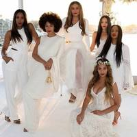 Beyonce was an awesome bridesmaid (obviously)