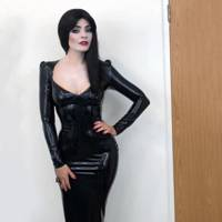 Holly Willoughby as Morticia Adams