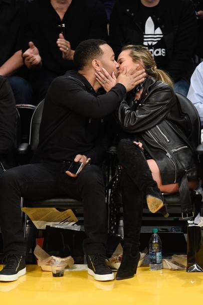 Chrissy Teigen and John Legend Just Recreated That Iconic Spider-Man Kiss forecast