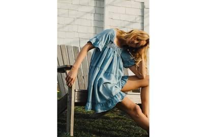 Best Denim Dresses: Denim Tunic