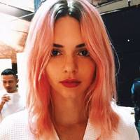 Kendall Jenner's pink dye