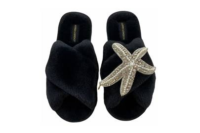 Best women's slippers UK: embellished slippers