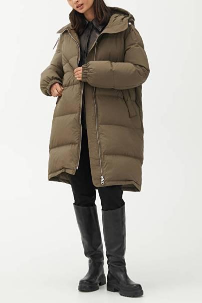 Arket Puffer Coat: Short Down