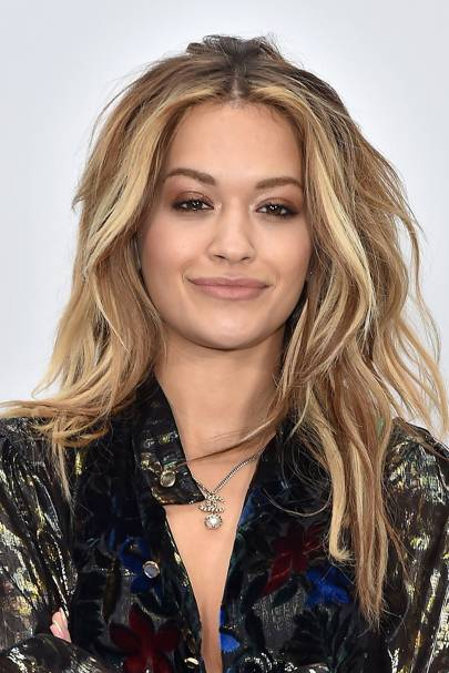 Rita attended the AW17 Chanel show in Paris, and was spotted front row ...
