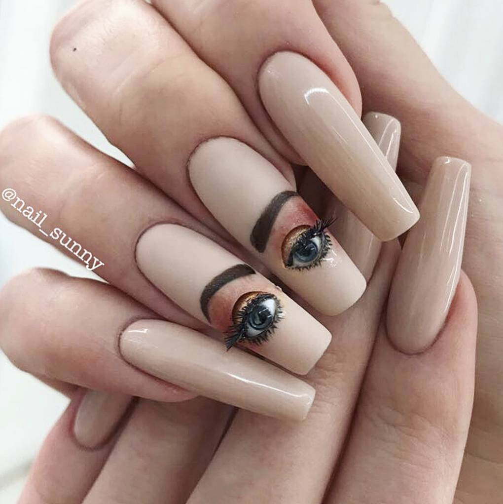 Weird And Wonderful Nail Art Trends Of 2018 | Glamour UK