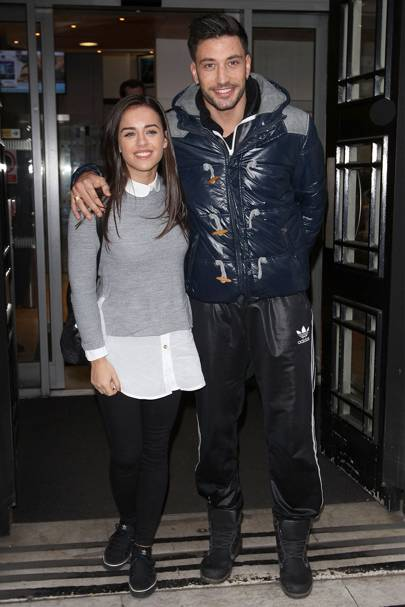 August: Georgia May Foote and Giovanni Pernice