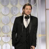 Brad Pitt at the Golden Globes 2012