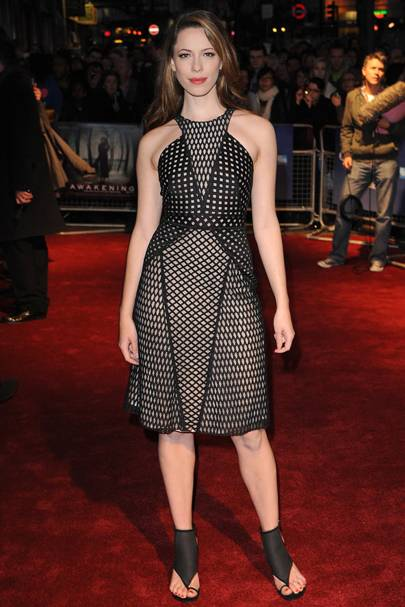 DON'T #2: Rebecca Hall at The Awakening premiere, October