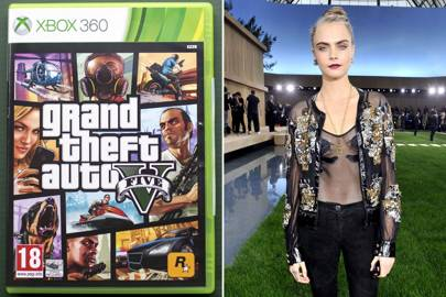 Cara Delevingne as a DJ in GTA