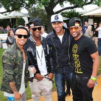 JLS at the Unwind Lounge at Barlcaycard Wireless