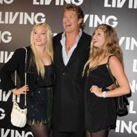 David Hasselhoff & His Daughters