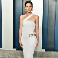 Lily Aldridge in Tom Ford for Gucci