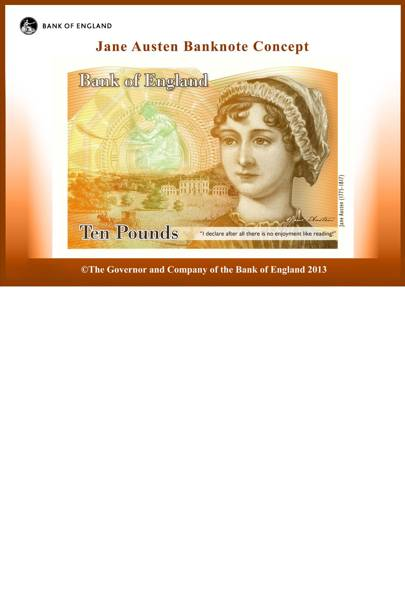 Jane Austen's Banknotes